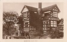 CONGLETON ( Cheshire) : Moreton Old Hall RP-WOOD-ELWORTH small s/ring