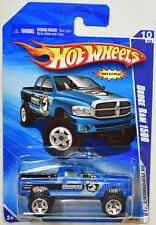 HOT WHEELS 2010 HW PERFORMANCE DODGE RAM 1500 BLUE