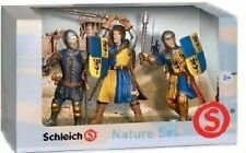 Schleich KNIGHTS Collection Blue Knights of Medieval Times Action Figure 3 Pack