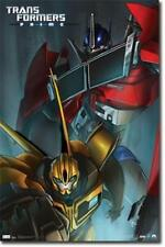 2011 HASBRO TRANSFORMERS PRIME CLASSIC POSTER 22x34 NEW FREE SHIPPING
