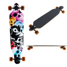 "Pro Longboard Complete 41""x 9.75"" Cruiser Skateboard Downhill Canadian Maple"