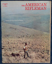 Vintage Magazine American Rifleman, SEPTEMBER 1973 !!MOSSBERG Model 472 RIFLE!!