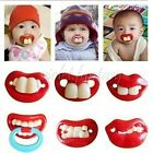 Pacifiers Crazy Baby Novelty Practical Prank Joke Maternity Toddler Child New