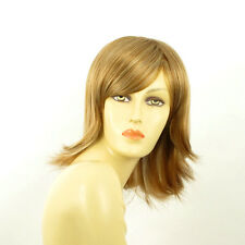 mid length wig for women blond copper wick light blond ref: URSULA f27613  PERUK