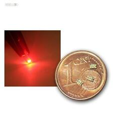100 SMD LEDs 0805 rot, rote mini SMDs SMT red rouge rojo rosso rood tief lok LED