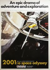 2001 A Space Odyssey 24x34 Theatrical Art Movie Poster