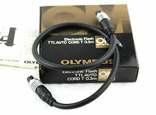OLYMPUS ELECTRONIC TTL AUTO FLASH CORD T (0.3 meters)