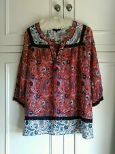 next pretty summers top vg condition size14