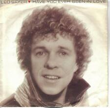 Eurovision 1981 UK Final Have You Ever Been In Love Leo Sayer cover version 7""