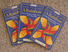 How to Make a Rainbow : Great Things to Make and Do for Seven Year Olds Lot of 3