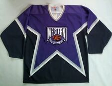 VINTAGE CCM MASKA  NHL WESTERN CONFERENCE ALL STAR HOCKEY JERSEY  SIZE L