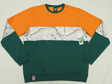 $79 NWT NEW Mens LRG L-R-G Bridgework Colorblocked Sweatshirt Urban Size S K866