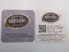 Coaster: BLUE POINT Brewery ~ Long Island, New York ~ Beer Lubricant Intercourse