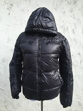 Women's Burberry Black Label Down Puffer Jacket Coat Size M