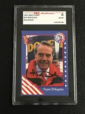 BOB DOLE 1992 WILD CARD DECISIONS SIGNED AUTOGRAPHED CARD #35 SGC AUTHENTIC