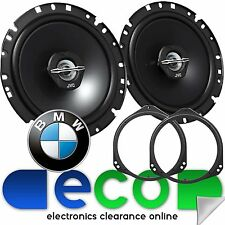 BMW X5 2000-2006 E53 JVC 17cm 600 Watts 2 Way Front Door Car Speakers & Brackets