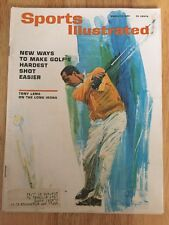 Sports Illustrated TONY LEMA on The Long Irons On Cover March 15, 1965