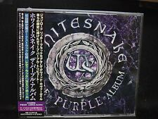 WHITESNAKE The Purple Album + 3 JAPAN CD + DVD Deep Purple David Coverdale
