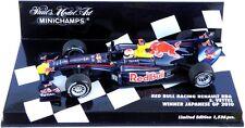 MINICHAMPS 1/43 RED BULL RENAULT RB6 S. VETTEL JAPANESE GP JAPAN 2010 410100305