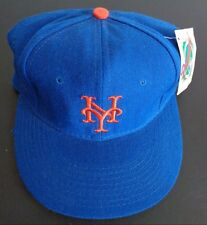 Vintage 1990s NewEra Fitted Hat 6 758  New York Mets MLB Diamond Collection