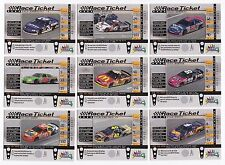 1999 Maxx RACE TICKET #RT19 Mark Martin BV$6! (UNSCRATCHED!)