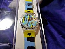 Unisex Zoobe Fish Watch w/ Citizen's Qtz Movement Art Wolf Designs RC-03