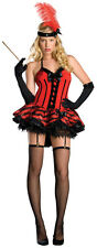 Sexy Halloween Adult Women's Cabaret Burlesque Dancer Girl Costume Size Small
