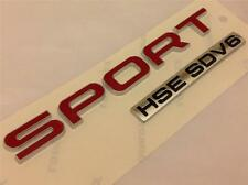 NEW 2014 GENUINE RANGE ROVER SPORT HSE SDV6 BADGE*REAR BOOT TAILGATE BADGE