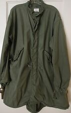 US Army Vietnam Era 1970 M-65 M65 Fishtail Parka Sz Reg Medium