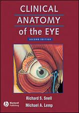 CLINICAL ANATOMY OF THE EYE SNELL LEMP OPTOMETRY OPTICS UNIVERSITY TEXTBOOK