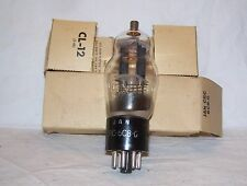 NOS RCA JAN CRC 6C8G twin triode radio tube in original box,tested great!,6C8