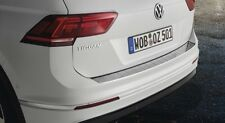 Original VW Tiguan Ladekantenschutz Alu Optik Alu Leiste Stossstange Neues Model