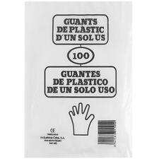 Bolsa 100 Guantes Plastico Un Uso Profesional