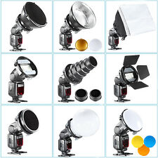 SGA-K9 flash Accessories Kit (Barndoor/Snoot/Softbox/Honeycomb/Diffuser) EM#01
