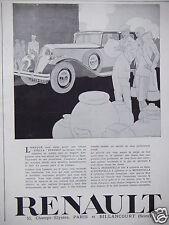 PUBLICITÉ 1929 RENAULT STELLA REINASTELLA VIVASTELLA MANASTELLA - ADVERTISING