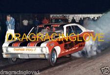 """""""Super Shaker"""" Terry Hedrick 1969 Chevy Nova NITRO Funny Car PHOTO!"""