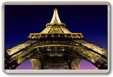 FRIDGE MAGNET - EIFFEL TOWER - Large Jumbo (Below View) France Paris