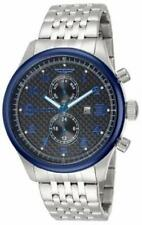 Invicta 10291 Specialty GMT Carbon Fiber Stainless Steel Bracelet Mens Watch