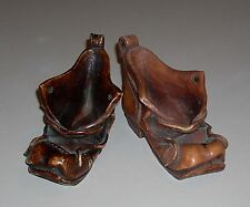 Vintage Comoy's of London Shoe Pipe Rest Stand Holder Pair Made in Italy
