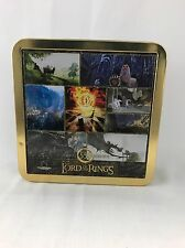 "Art Lord of the Rings Puzzle 550 pc w/ COLLECTIBLE TIN  19"" x 19"" LOTR"