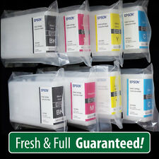 GENUINE Epson 786 initial cartridges - For WF4640 8 Pack MORE ink than T786XL!