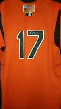 dylan bundy signed game used bowie baysox jersey