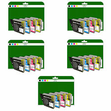 Any 20 Ink Cartridges for Brother DCP-J125 J140W J315W J515W non-OEM LC985