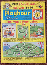 PLAYHOUR & BONNIE COMIC. 21 JUNE 1975. CHILDRENS COMIC. PUZZLES NOT DONE. FN
