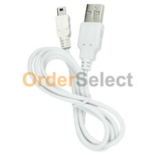 White USB Charger Sync Cable for Sandisk Sansa Clip e130 e140 m240 m250 m260