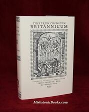 Theatrum Chemicum Britannicum by Elias Ashmole, Alchemy, Magick, Hardcover