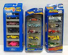 Hot Wheels Five-Car Gift Packs LOT of Three! NEW! Sealed! Ford! Insectiride!