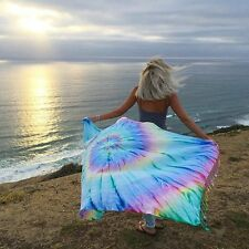 Sand Cloud Wanderlust XL Tie Dye Pocket Turkish Beach Towel / Blanket / Tapestry