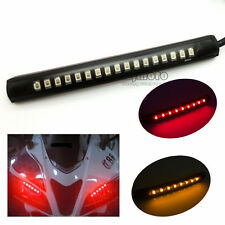 Bendable 17 LED Strip Tail Light Brake Turn Signal Indicator 2835 SMD Motorcycle