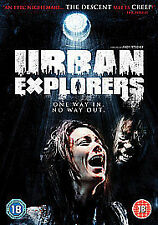 Urban Explorers DVD Region 2 Horror *New & Sealed*